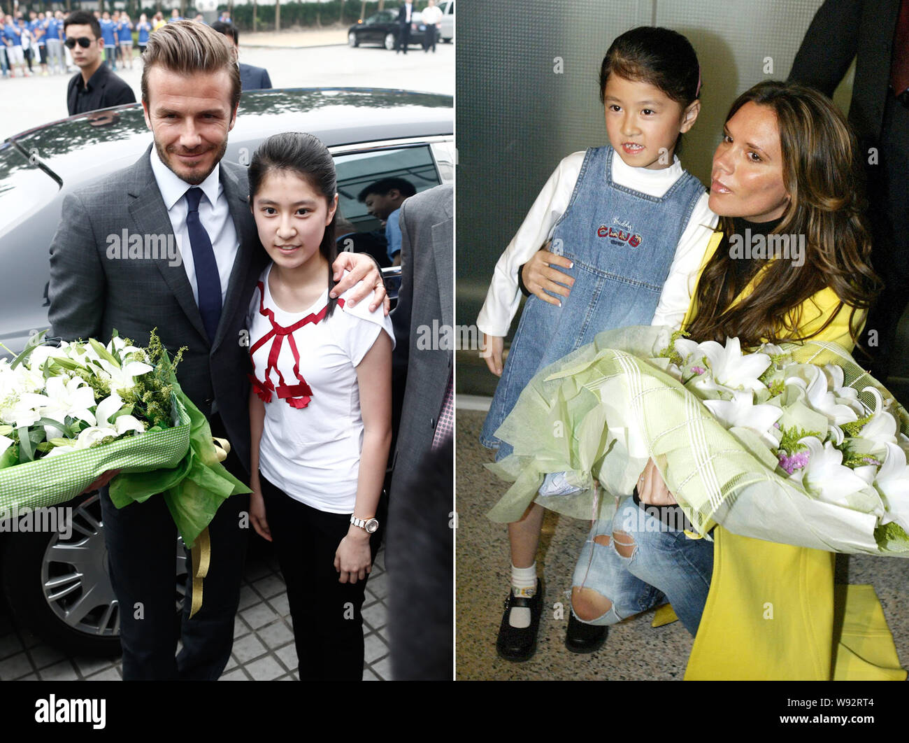 Victoria Beckham Young High Resolution Stock Photography And Images Alamy