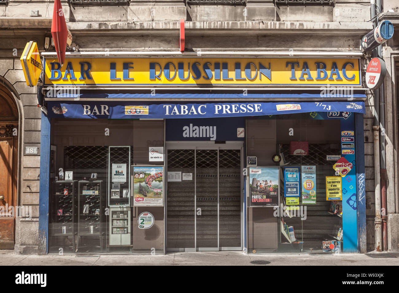 French Tobacconist Stock Photos & French Tobacconist Stock