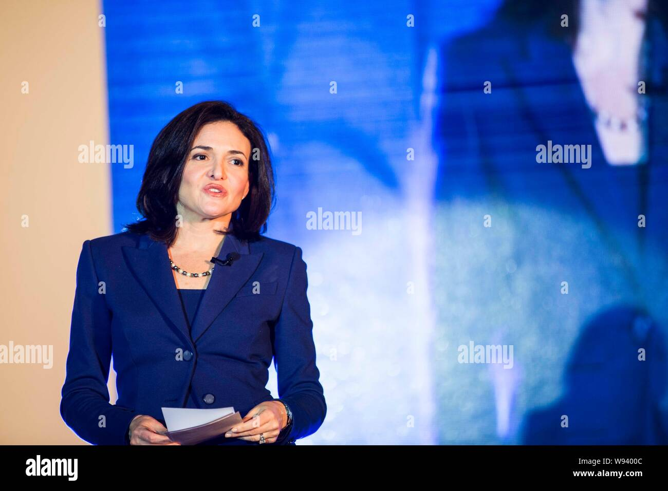 Sheryl Sandberg Stock Photos & Sheryl Sandberg Stock Images