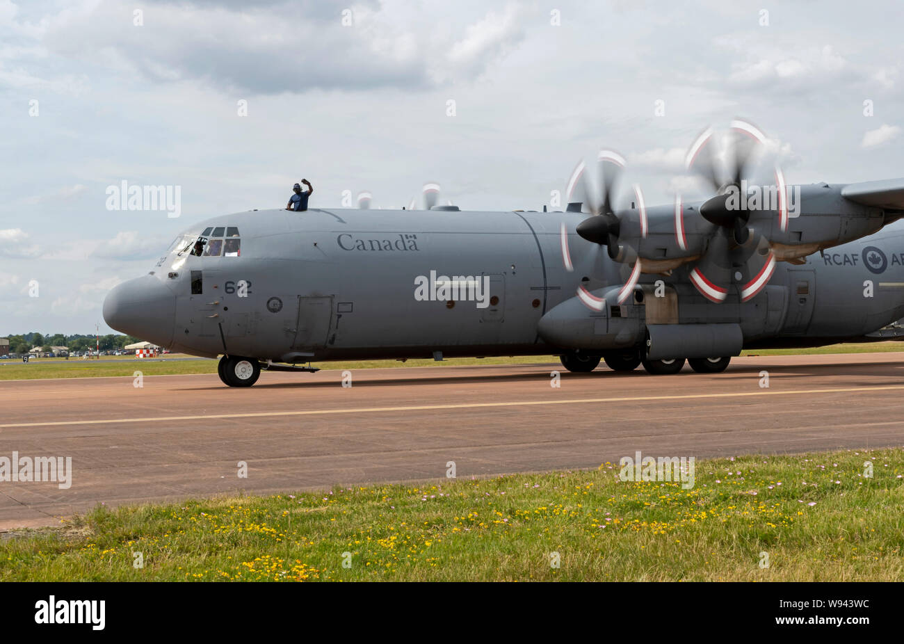 Canadian C-130H Hecules at the Royal International Air Tattoo 2019 Stock Photo
