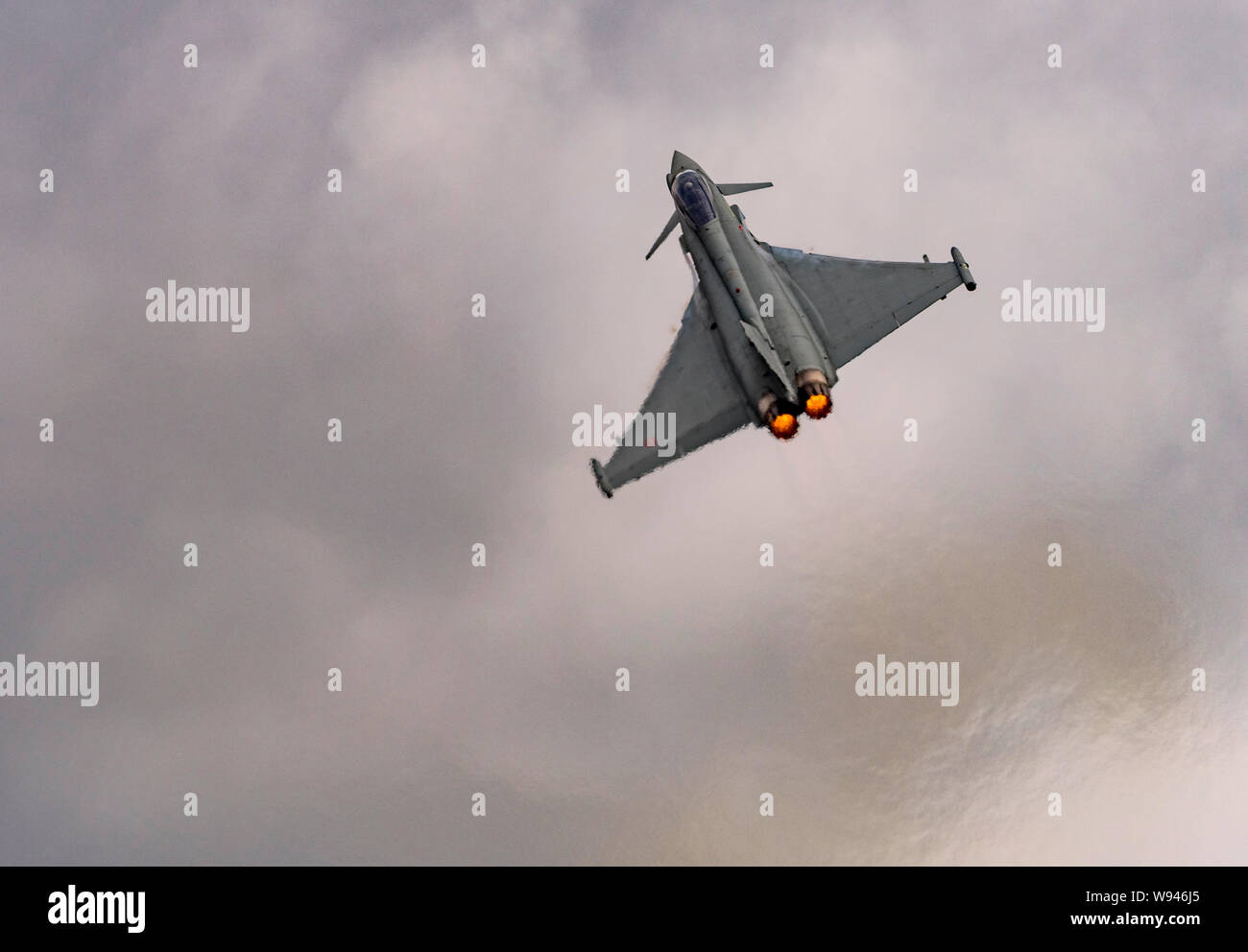 Eurofighter, F-2000 Typhoon at the Royal International Air Tattoo 2019 Stock Photo