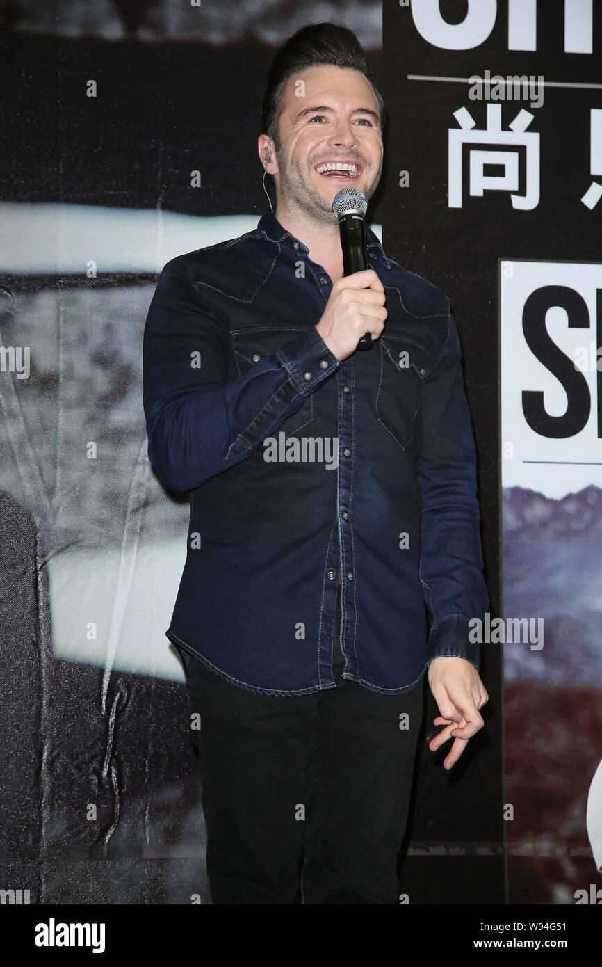 Westlife Shane Filan Stock Photos & Westlife Shane Filan