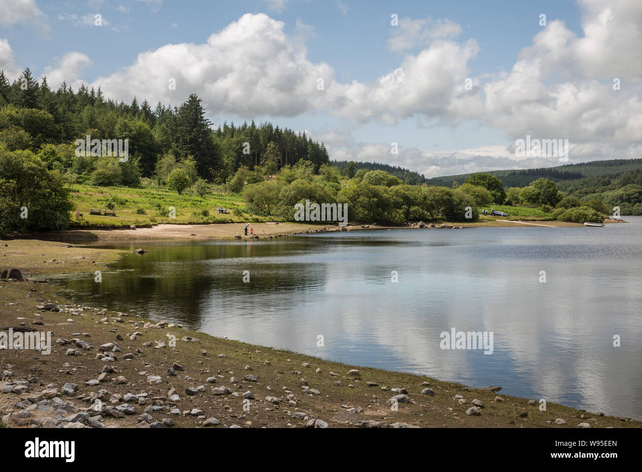 Fernworthy reservoir Stock Photo