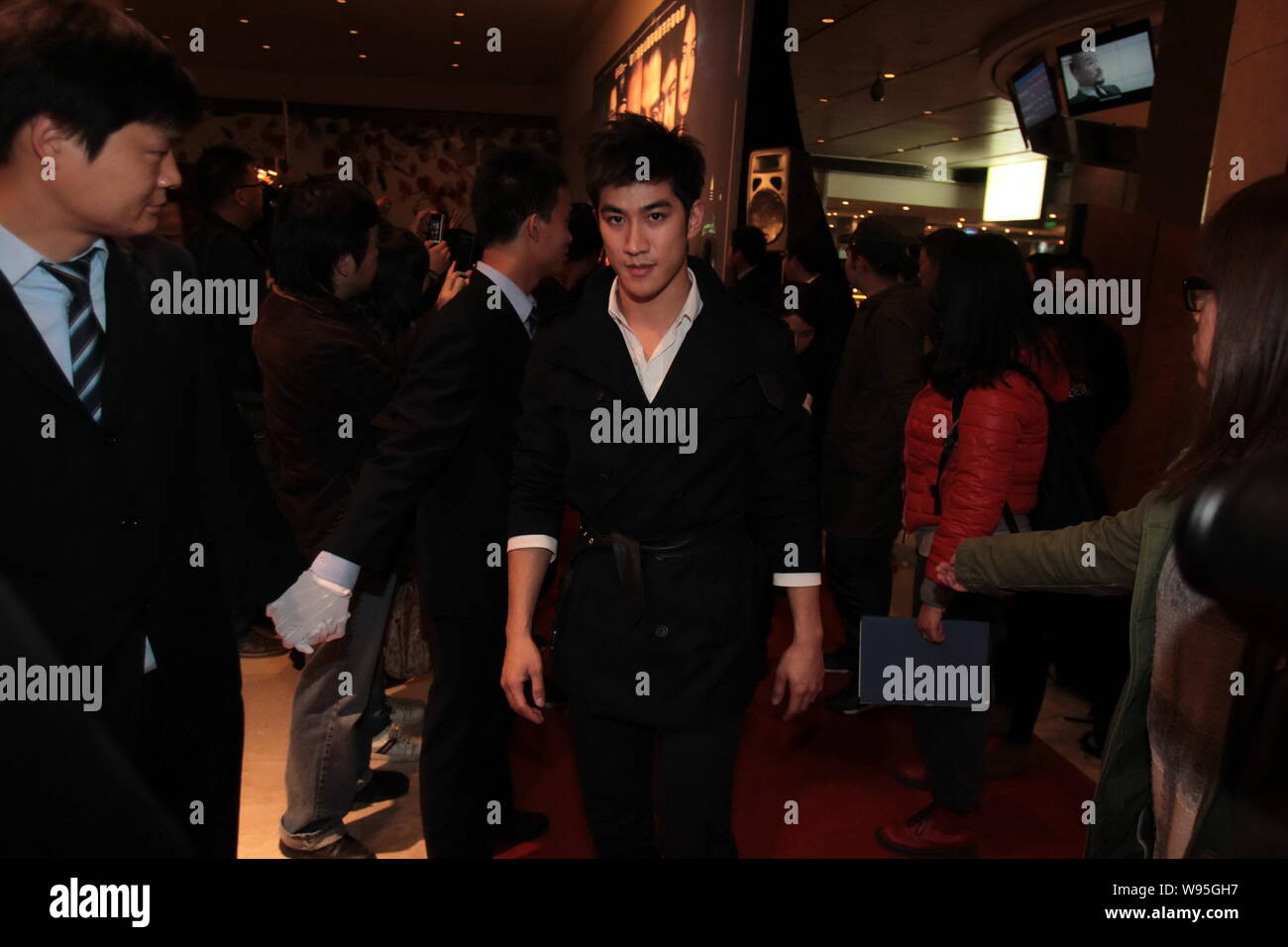 Hong Kong Singer And Actor Aarif Rahman Lee Arrives At The Premiere Of The Movie Cold War In Beijing China 5 November 2012 Stock Photo Alamy