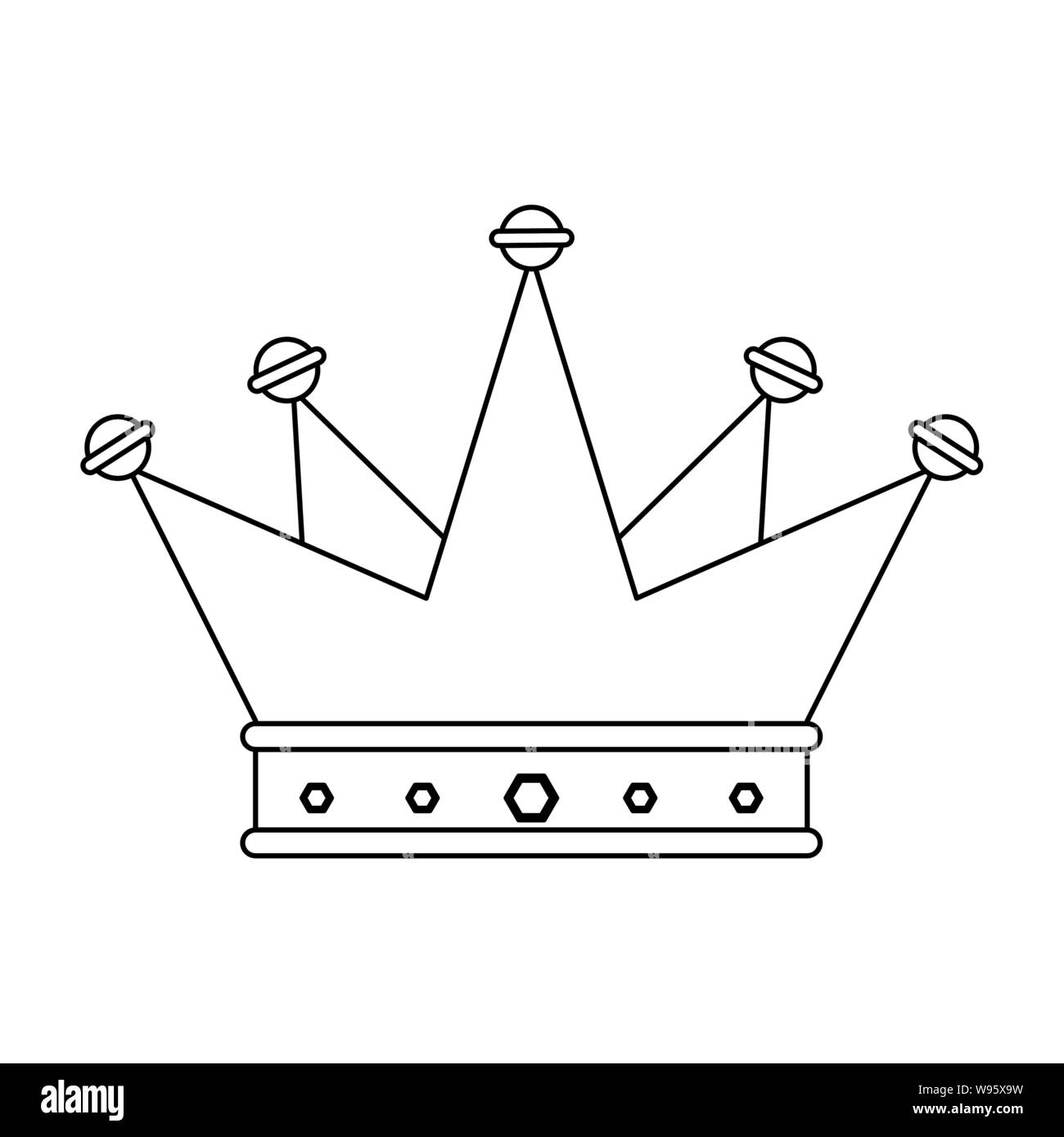 Crown King Luxury Jewel Cartoon In Black And White Stock Vector Image Art Alamy Looking for cartoon king crown psd free or illustration? https www alamy com crown king luxury jewel cartoon in black and white image263817845 html