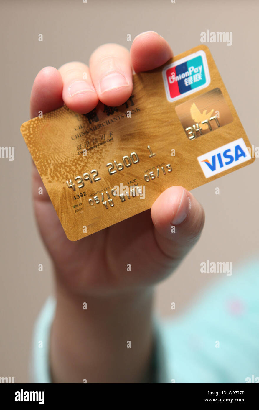 Prepaid Visa Card Stock Photos & Prepaid Visa Card Stock