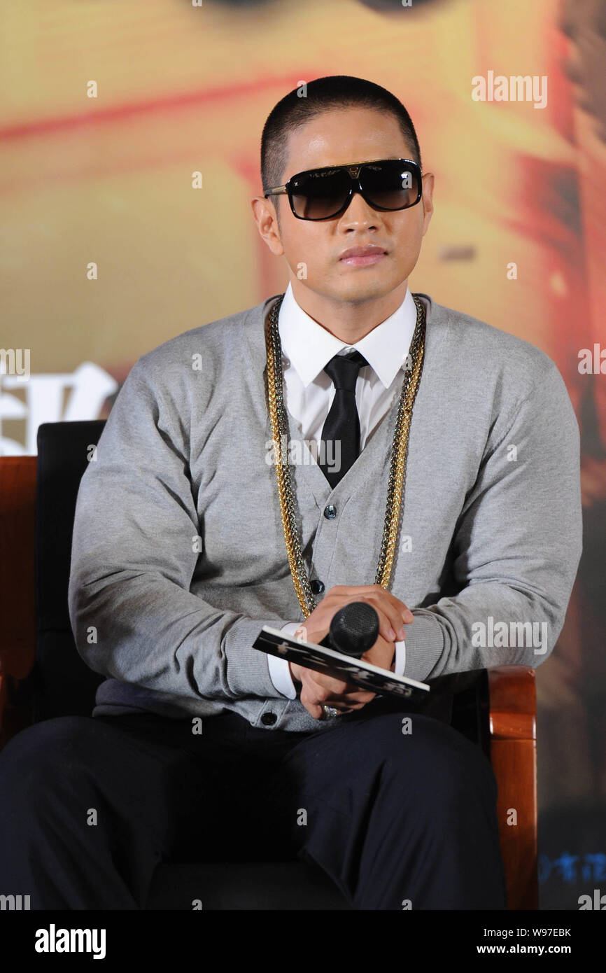 South Korean Actor Steve Yoo Seung Jun Attends A Press Conference
