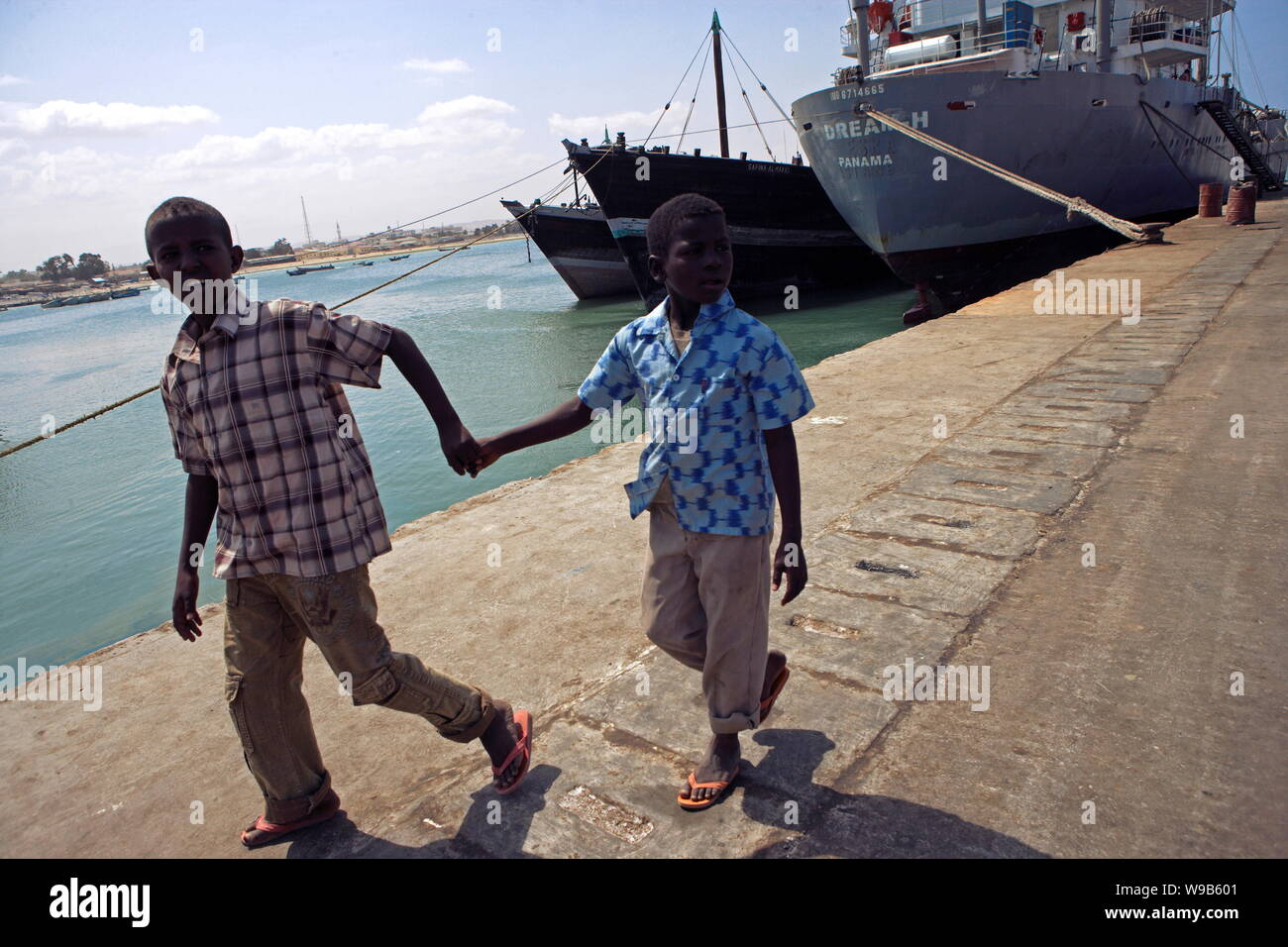Somali Children Stock Photos & Somali Children Stock Images