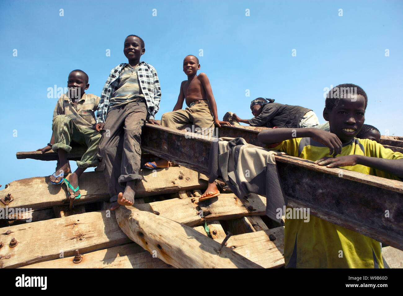 Somalian Pirate Stock Photos & Somalian Pirate Stock Images