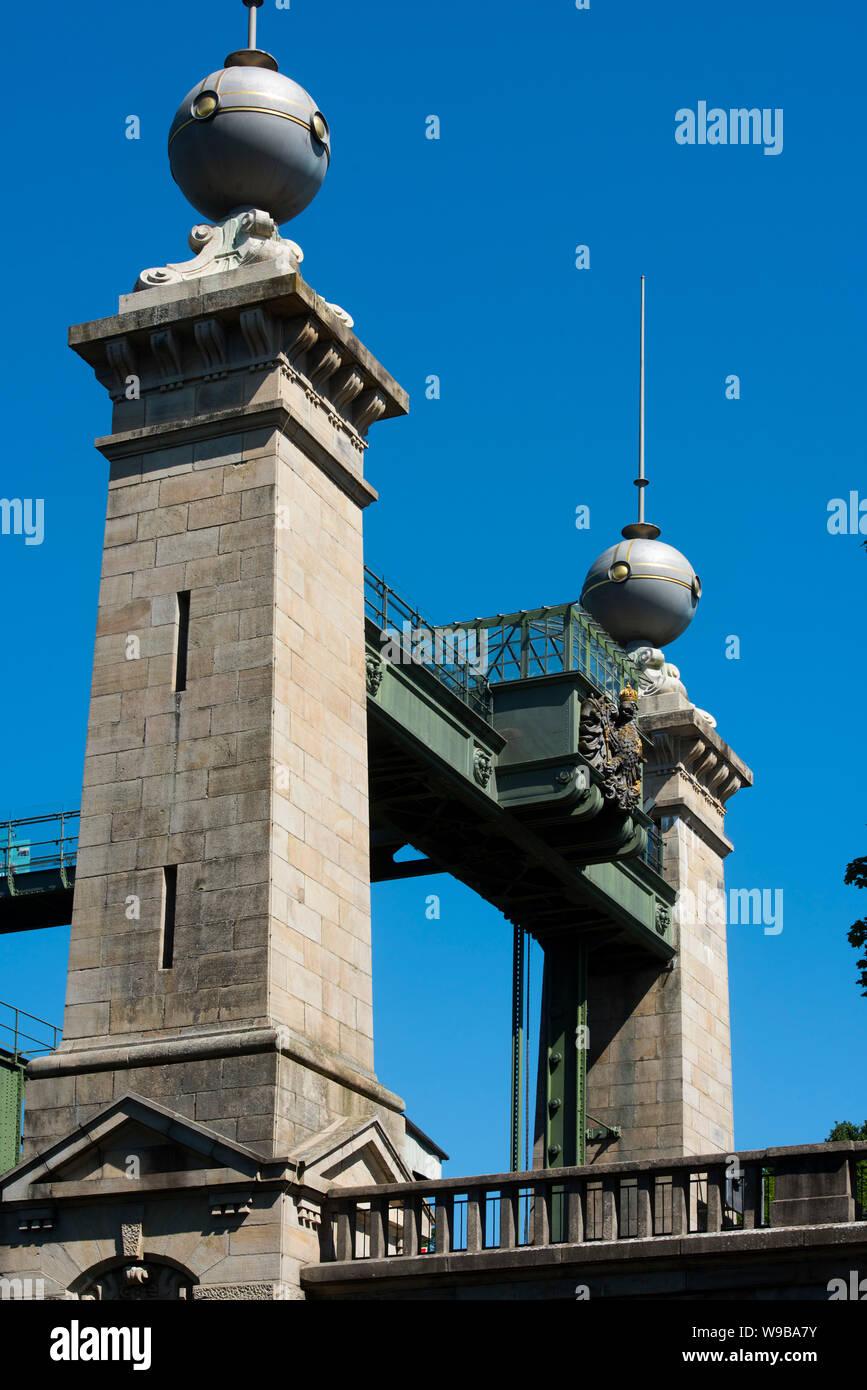 Deutschland, Ruhrgebiet, Kreis_Recklinghausen, Henrichenburg, Altes Schiffshebewerk (Ansicht von Süden) Stock Photo