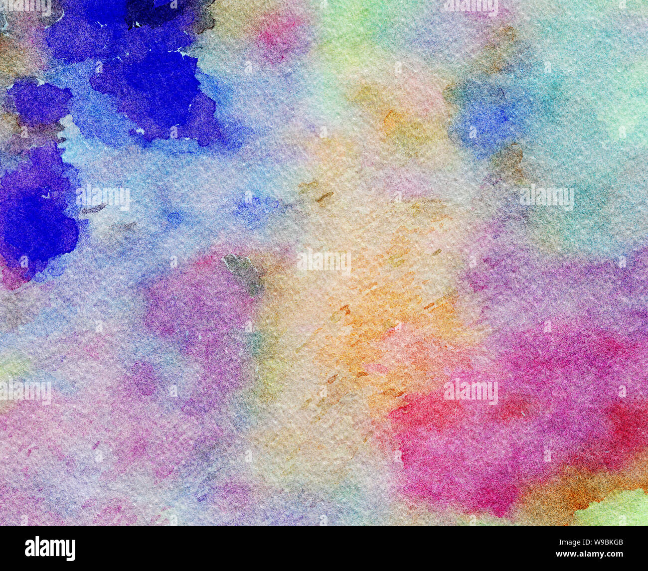 Watercolor Texture Background Abstract Painting Paint Splashes Pattern Design Template For Flyer Banner Cards And Invitation Stock Photo Alamy