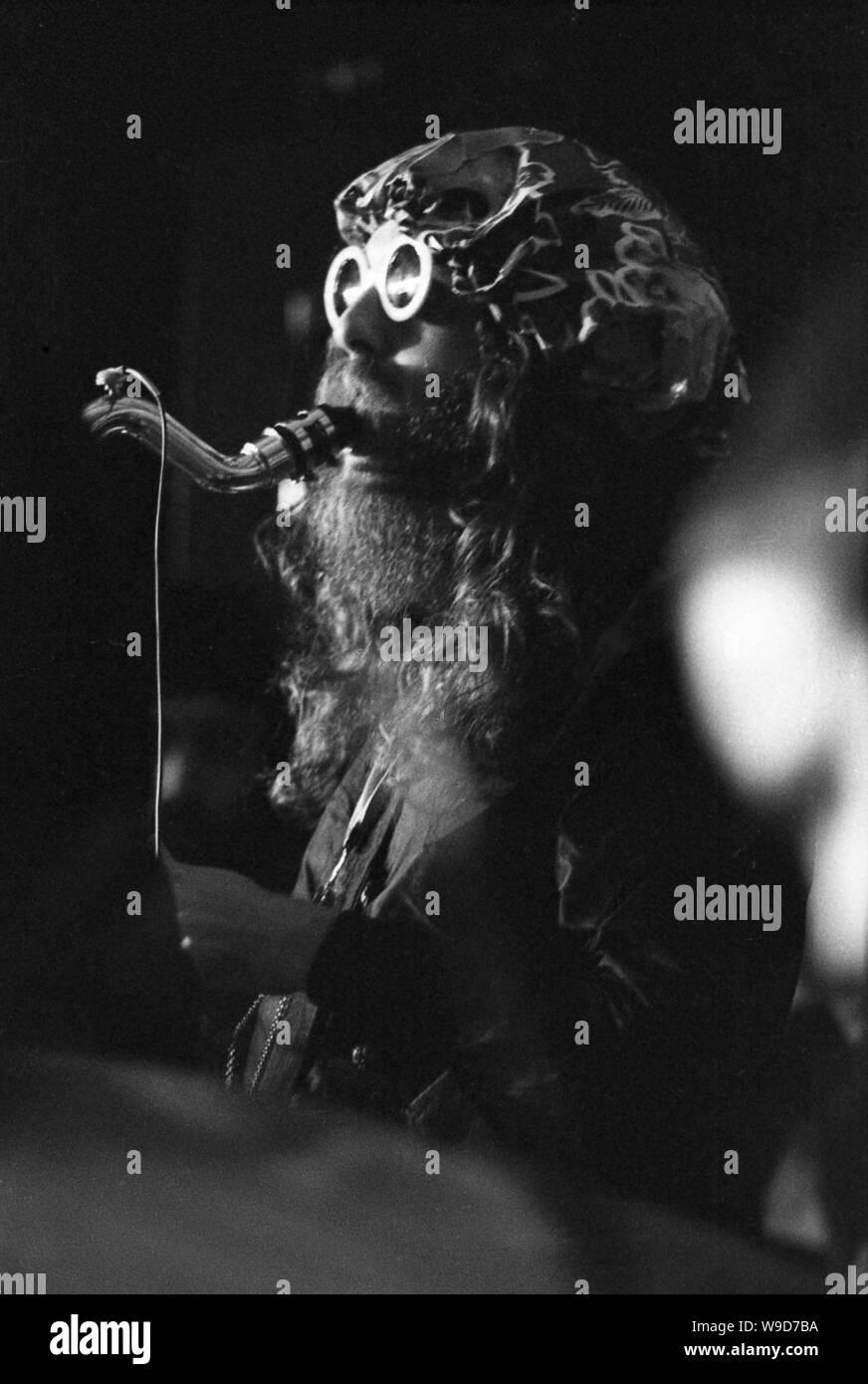 The Mascara Snake at the Amougies Festival, October 24-28, 1969 Stock Photo