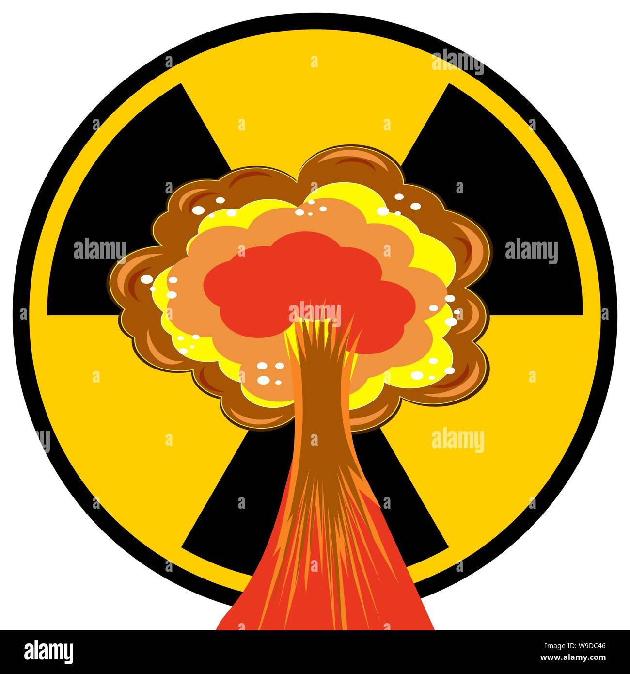 nuclear burst cartoon bomb explosion radioactive atomic power mushroom cloud ionizing radiation sign stock vector image art alamy https www alamy com nuclear burst cartoon bomb explosion radioactive atomic power mushroom cloud ionizing radiation sign image263982326 html