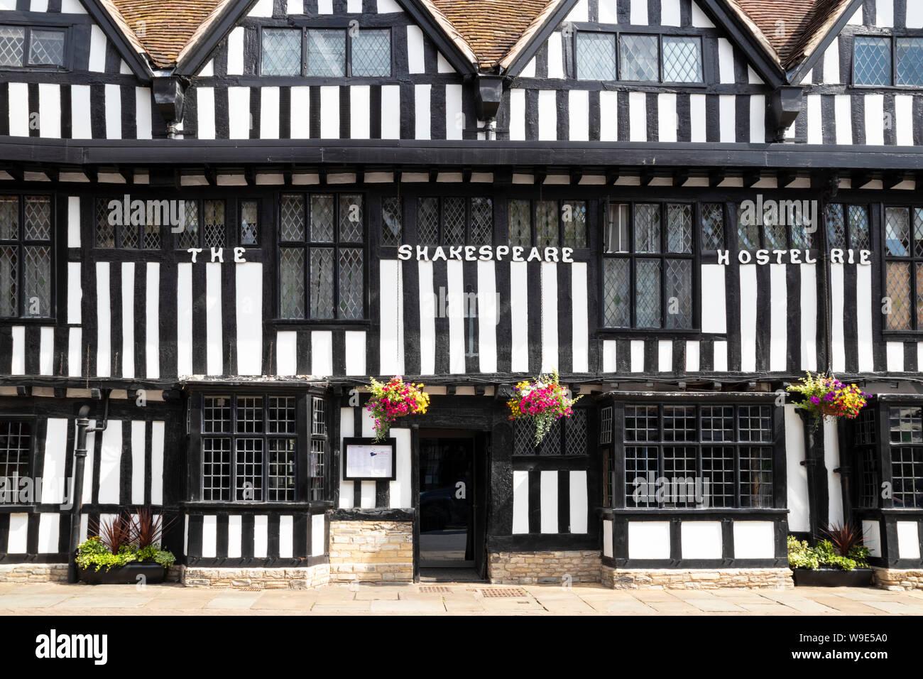 The Shakespeare hostelrie or Mercure Stratford upon Avon Shakespeare Hotel Stratford-upon-Avon Stratford upon Avon Warwickshire England UK GB Europe Stock Photo