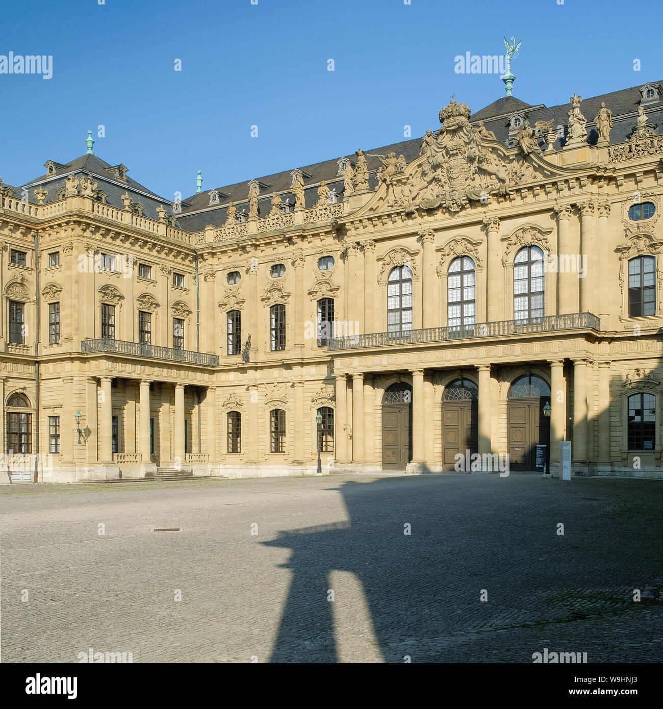 The Residenz, Würzburg Stock Photo