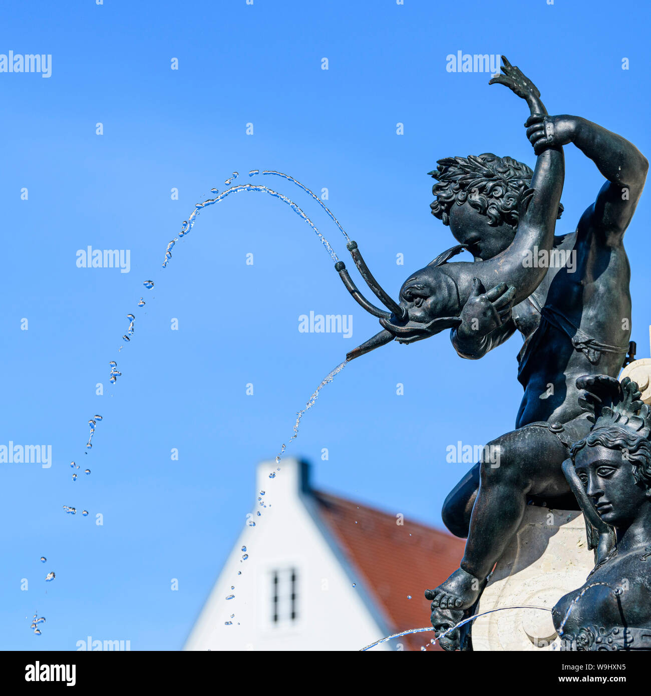 Augustus Fontain in Augsburg Stock Photo: 264081585 - Alamy