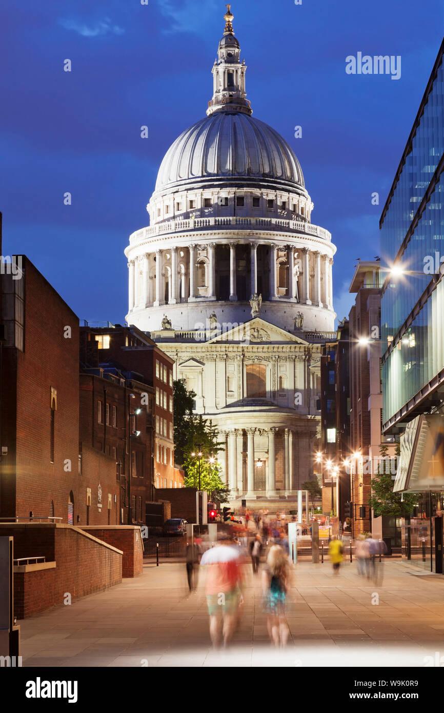 St. Paul's Cathedral, London, England, United Kingdom, Europe Stock Photo