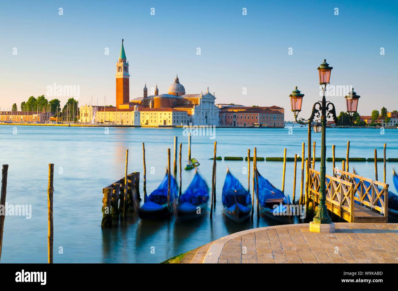 San Giorgio Maggiore Church across Basino di San Marco, Venice, UNESCO World Heritage Site, Veneto, Italy, Europe Stock Photo