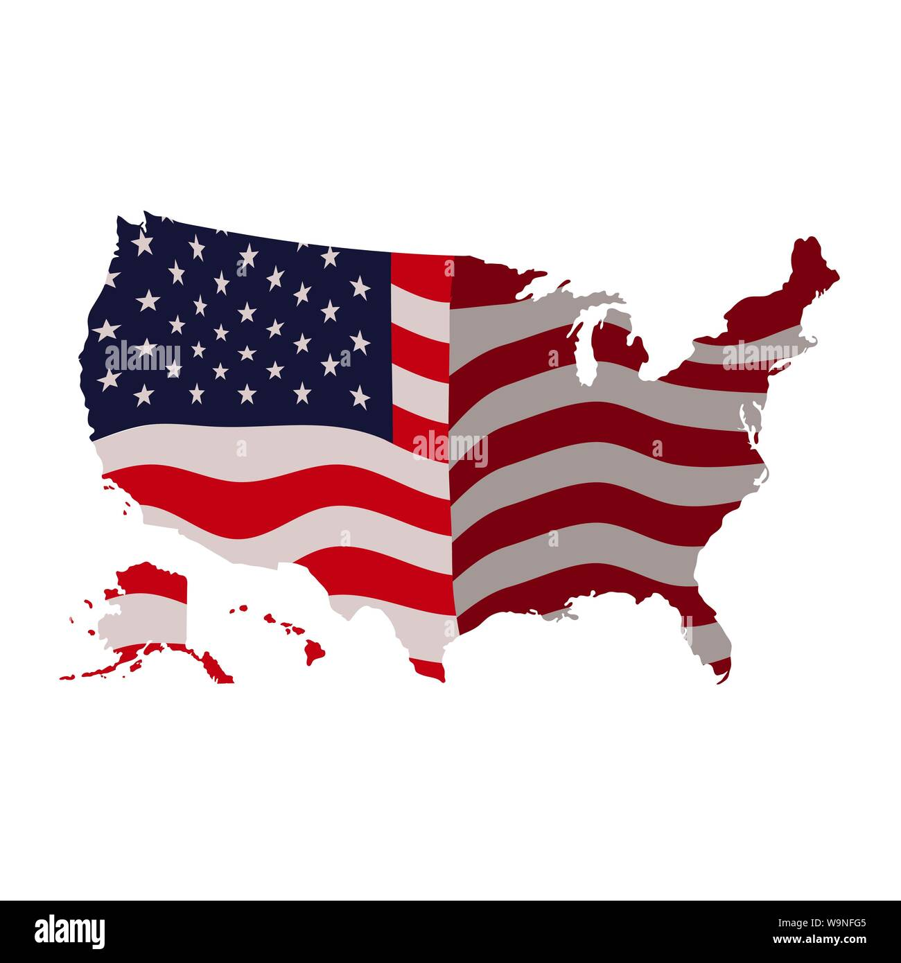 United States Map Stock Photos & United States Map Stock ...