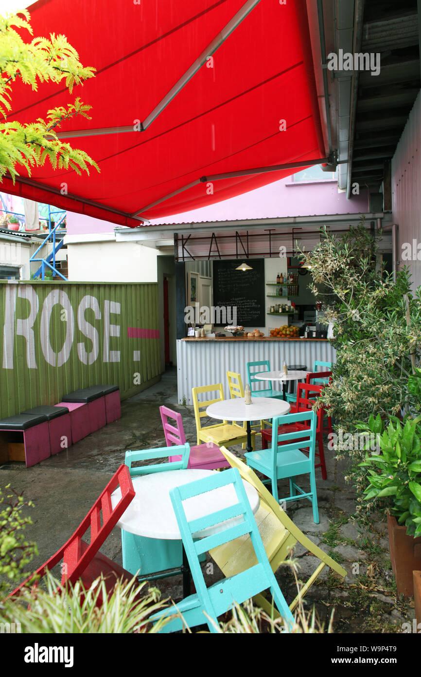 Melbourne Australia Cafe Stock Photos & Melbourne Australia