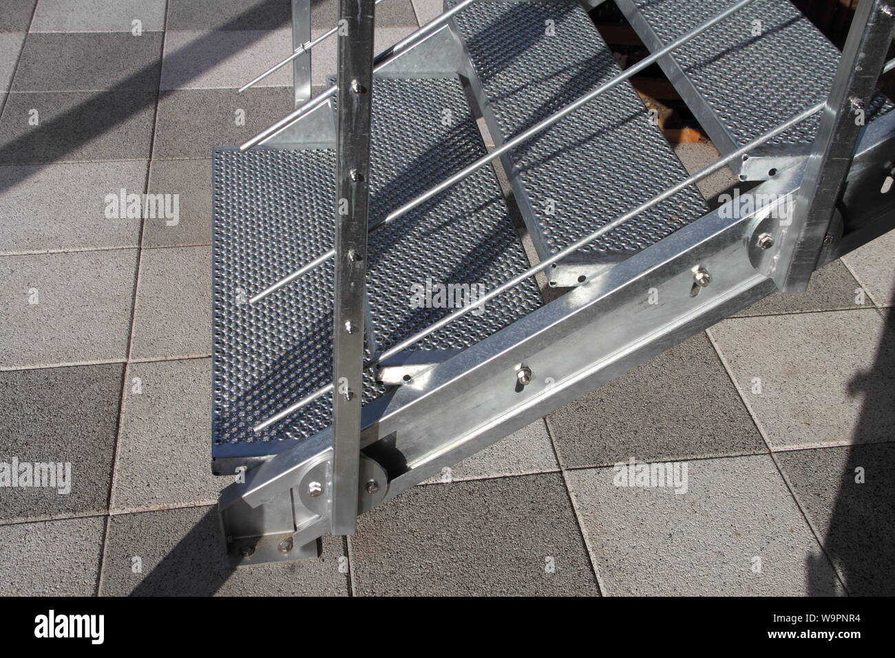 Modern Steel Railing High Resolution Stock Photography And Images Alamy