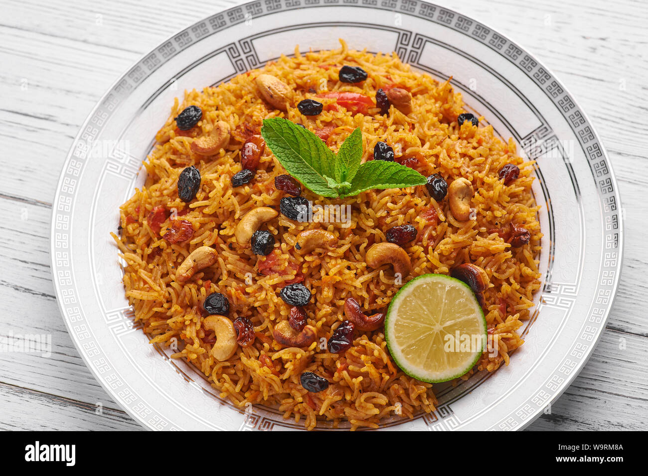 Kabsa High Resolution Stock Photography And Images Alamy