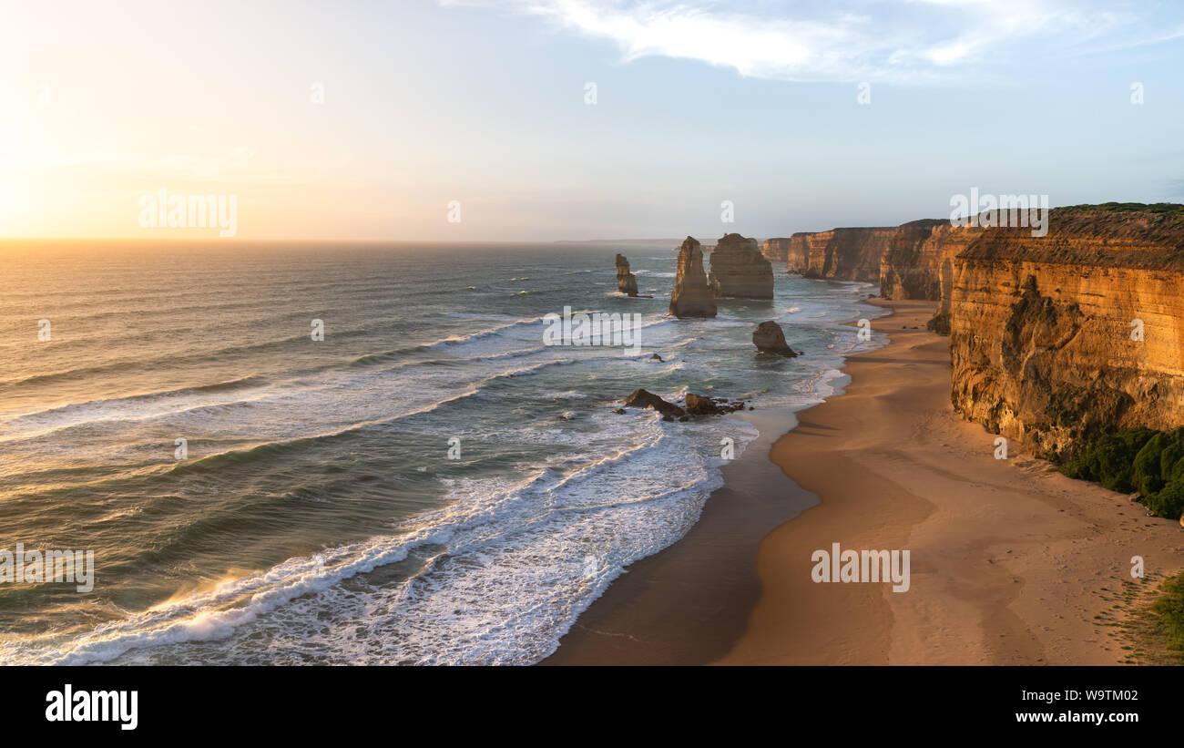 Twelve Apostles Marine National Park, Victoria, Australia Stock Photo