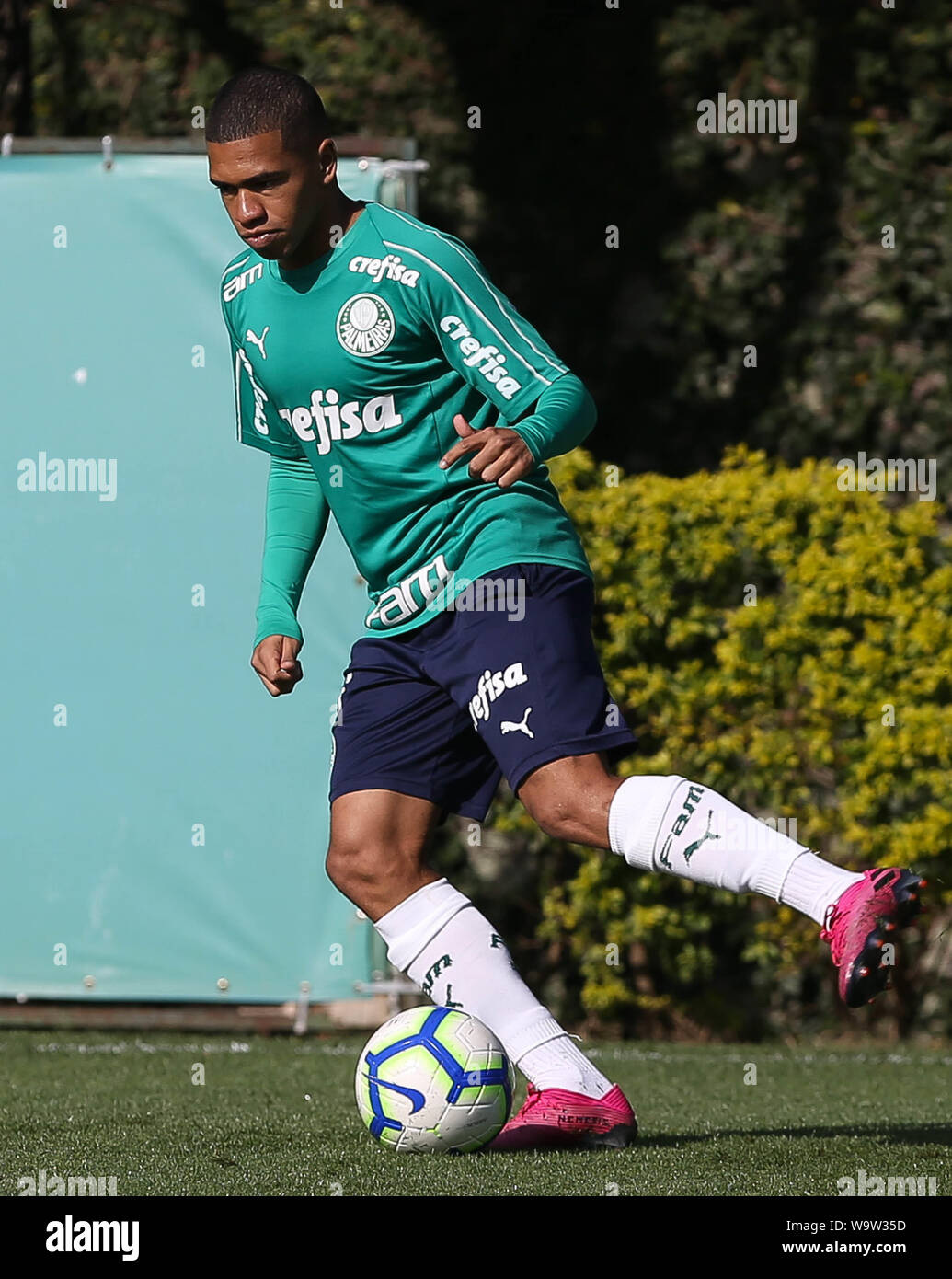 Sao Paulo Brazil 15th Aug 2019 Lucas Esteves From Se Palmeiras During Training At The Football Academy Credit Foto Arena Ltda Alamy Live News Stock Photo Alamy