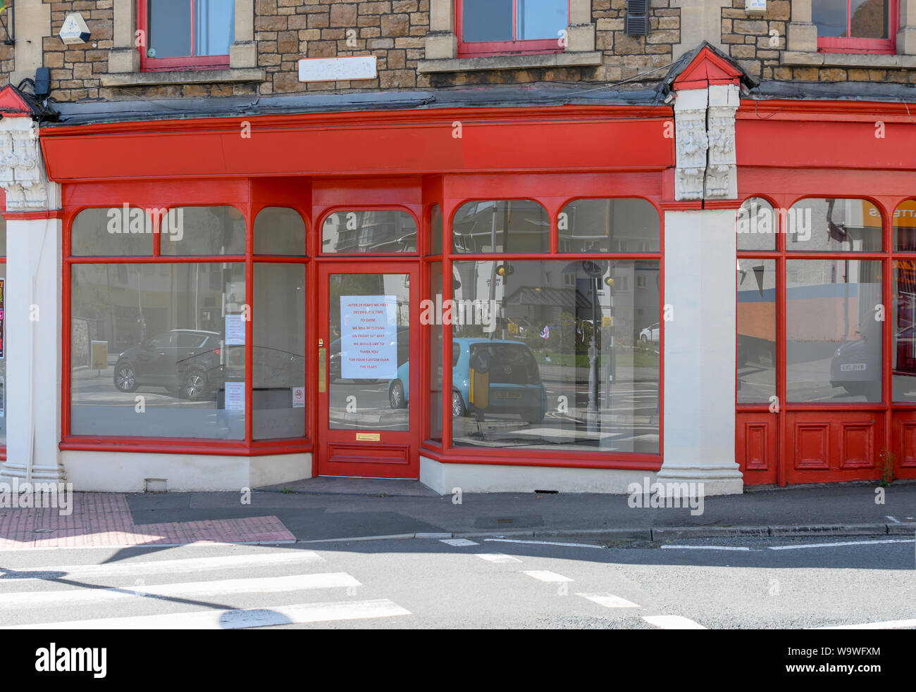 quality design df7b0 a2297 A High Street shop closed by online competition Stock Photo ...