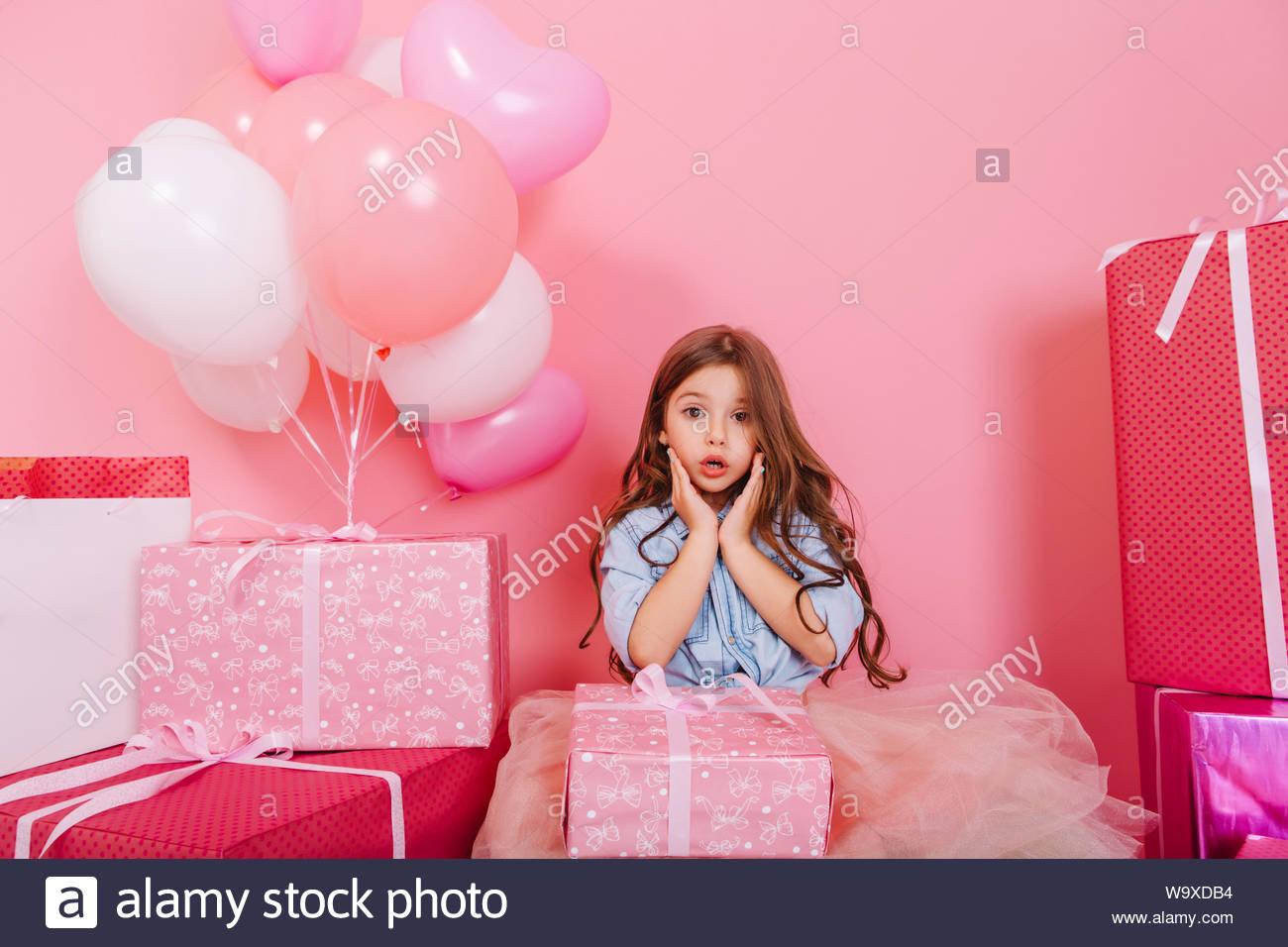 Sweet party girl brunette