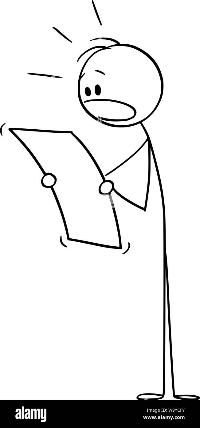 Vector cartoon stick figure drawing conceptual illustration