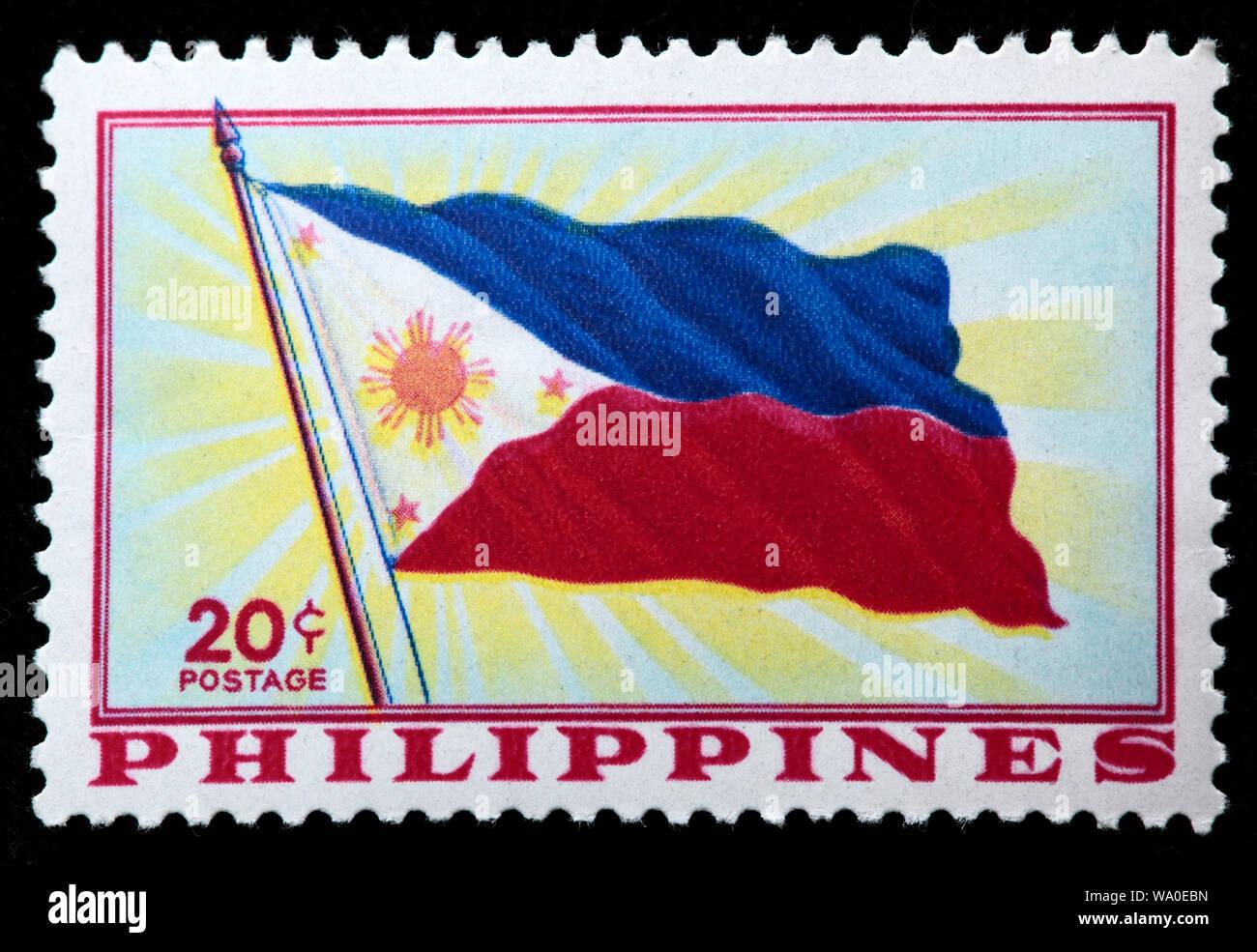 Filipino Postage Stamp Philippines Stock Photos Filipino