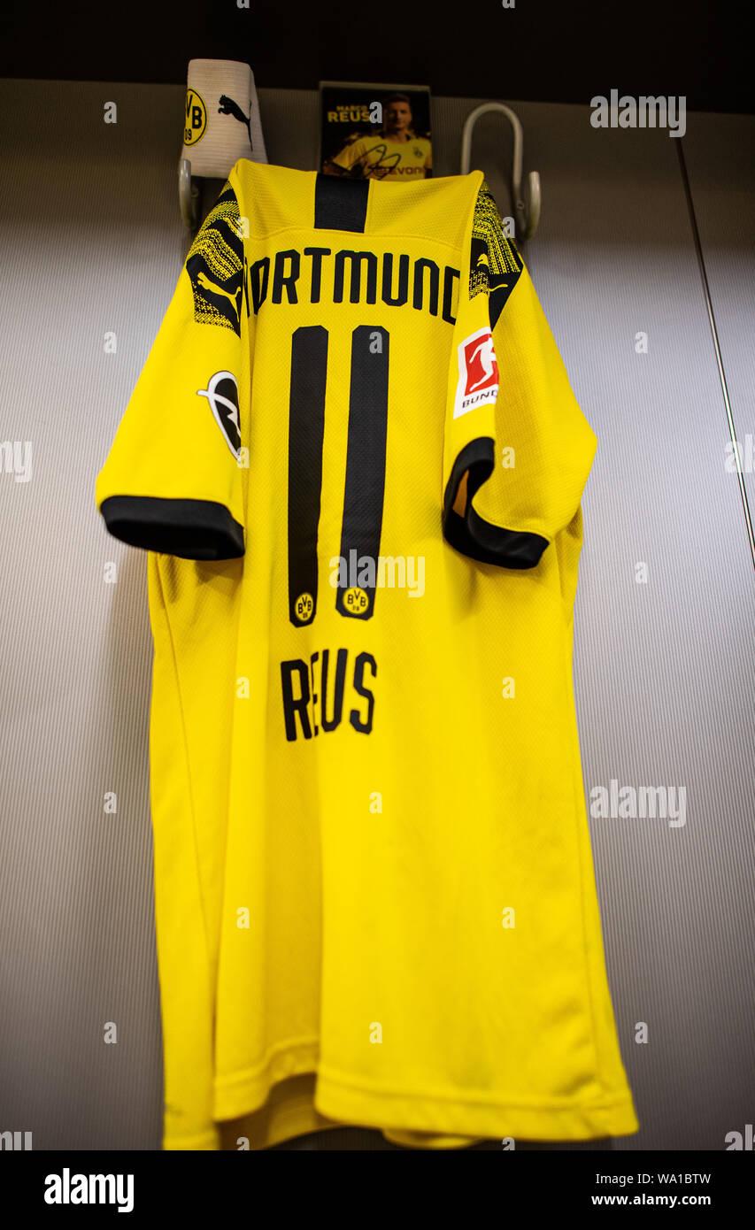 best website 4ed12 3869f Dortmund, Germany. 14th Aug, 2019. Soccer: Bundesliga. In ...