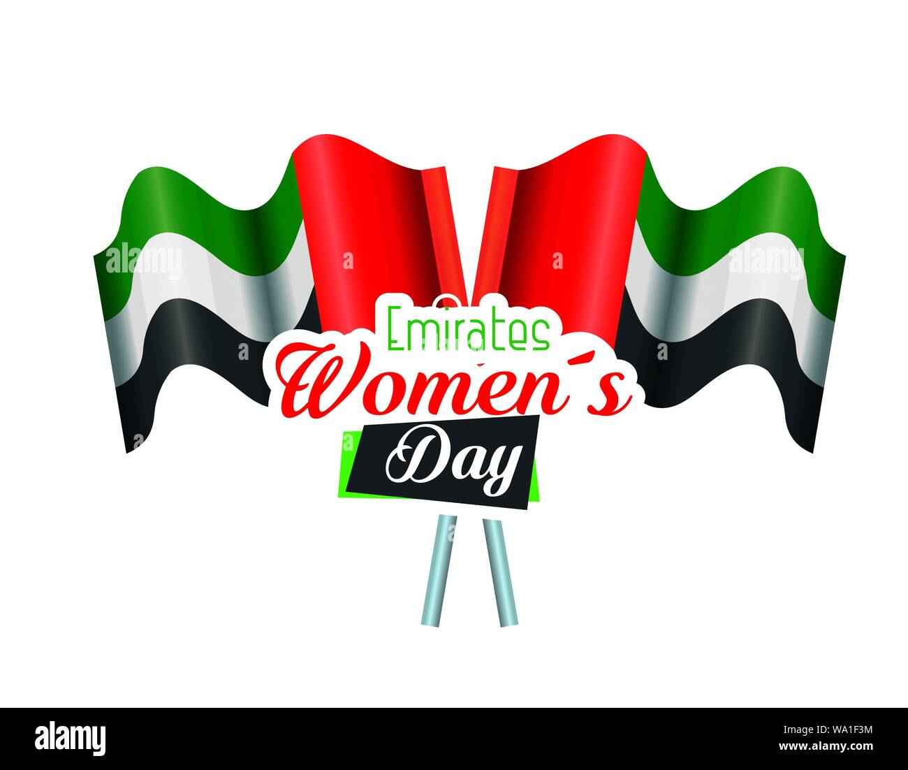 national flags to traditional pemirates womens day Stock Vector