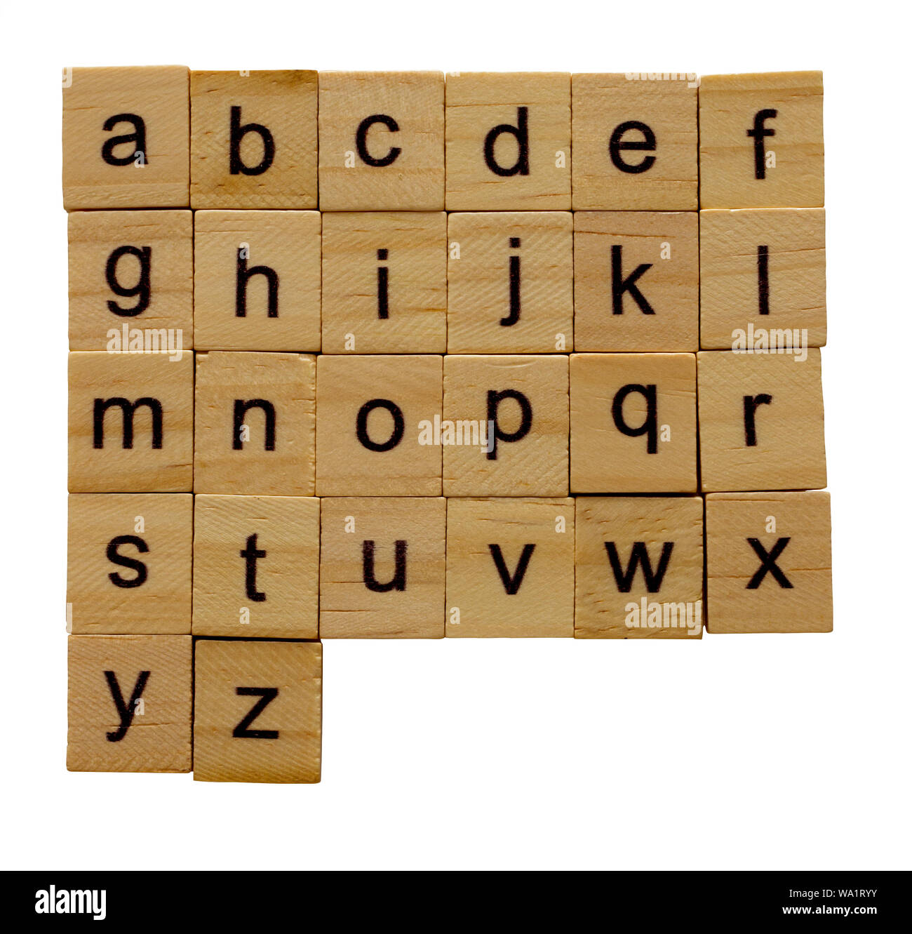 TEN 10 A to Z in Stock! Individual Letter E Black  Scrabble Tiles Letters