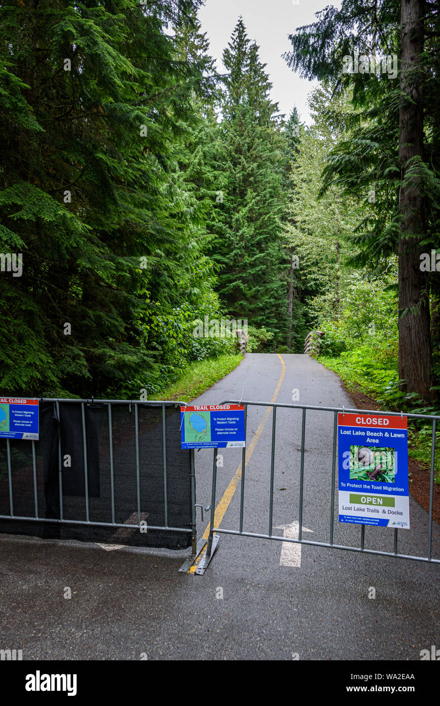 Trail Closed Stock Photos & Trail Closed Stock Images - Alamy