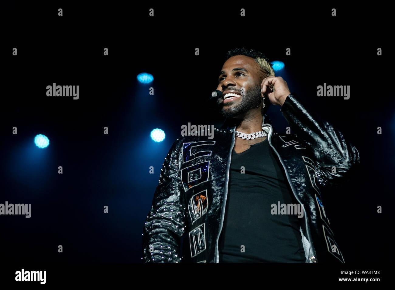 Copenhagen, Denmark  16th Aug, 2019  The American singer