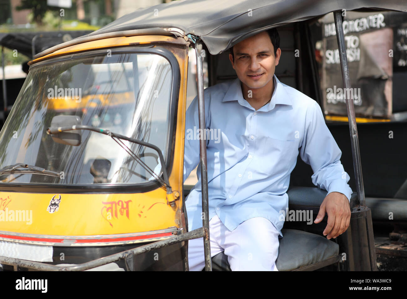 Rickshaw Seat High Resolution Stock Photography And Images Alamy
