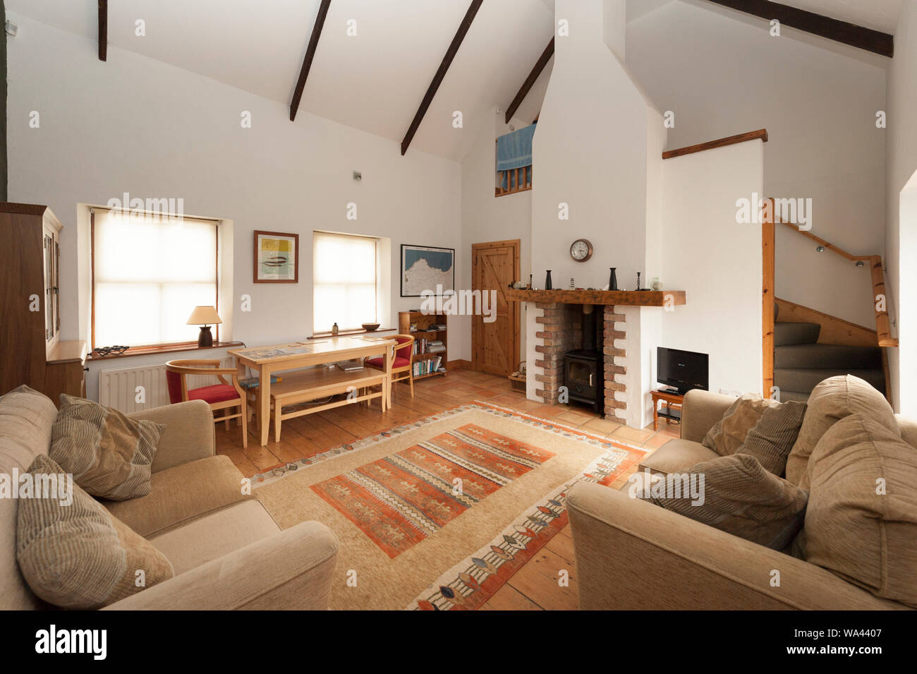 Wood Roof And Ceiling High Resolution Stock Photography And Images Alamy