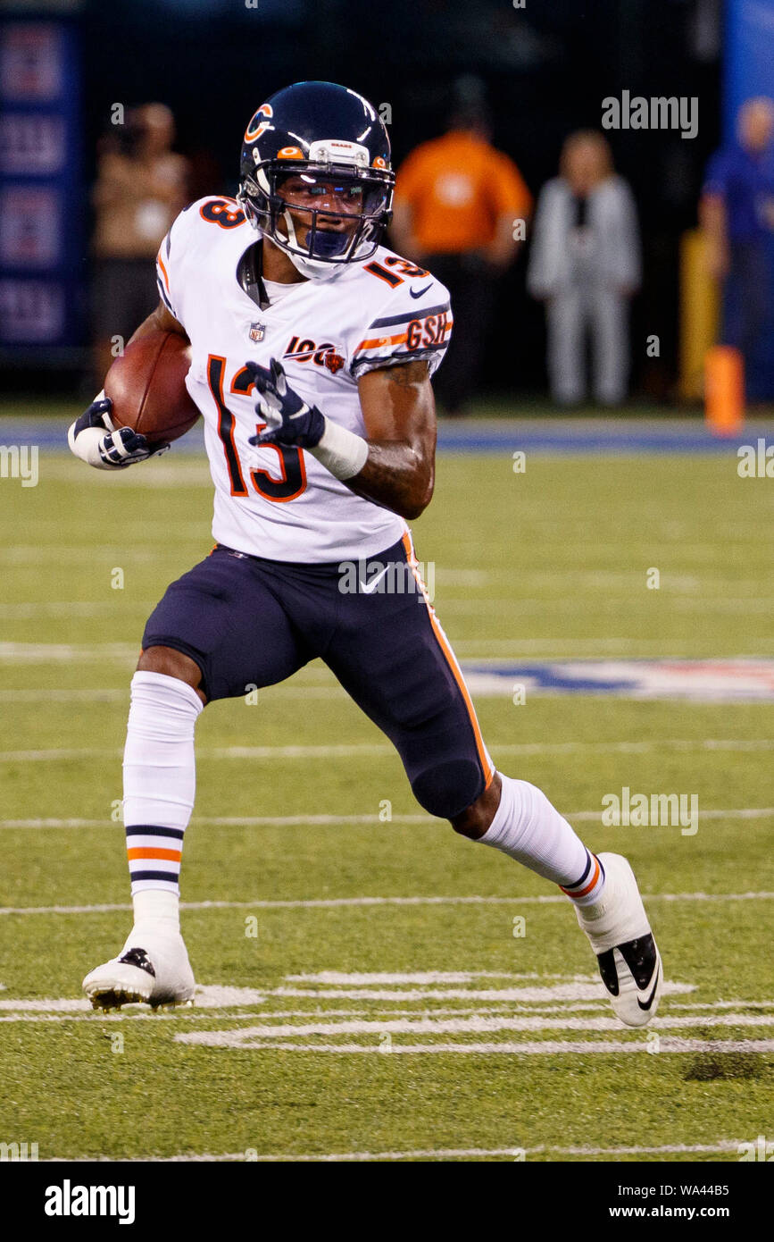 differently ab503 c1f17 August 16, 2019, Chicago Bears wide receiver Marvin Hall (13 ...