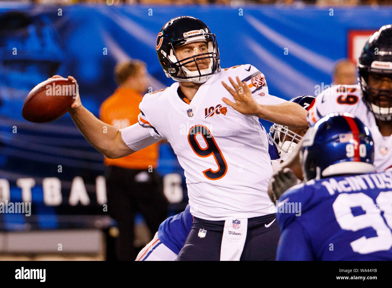 sports shoes 12b78 cfee8 August 16, 2019, Chicago Bears quarterback Tyler Bray (9) in ...