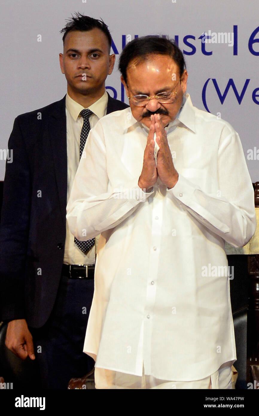 Kolkata, India  16th Aug, 2019  Vice President of India M
