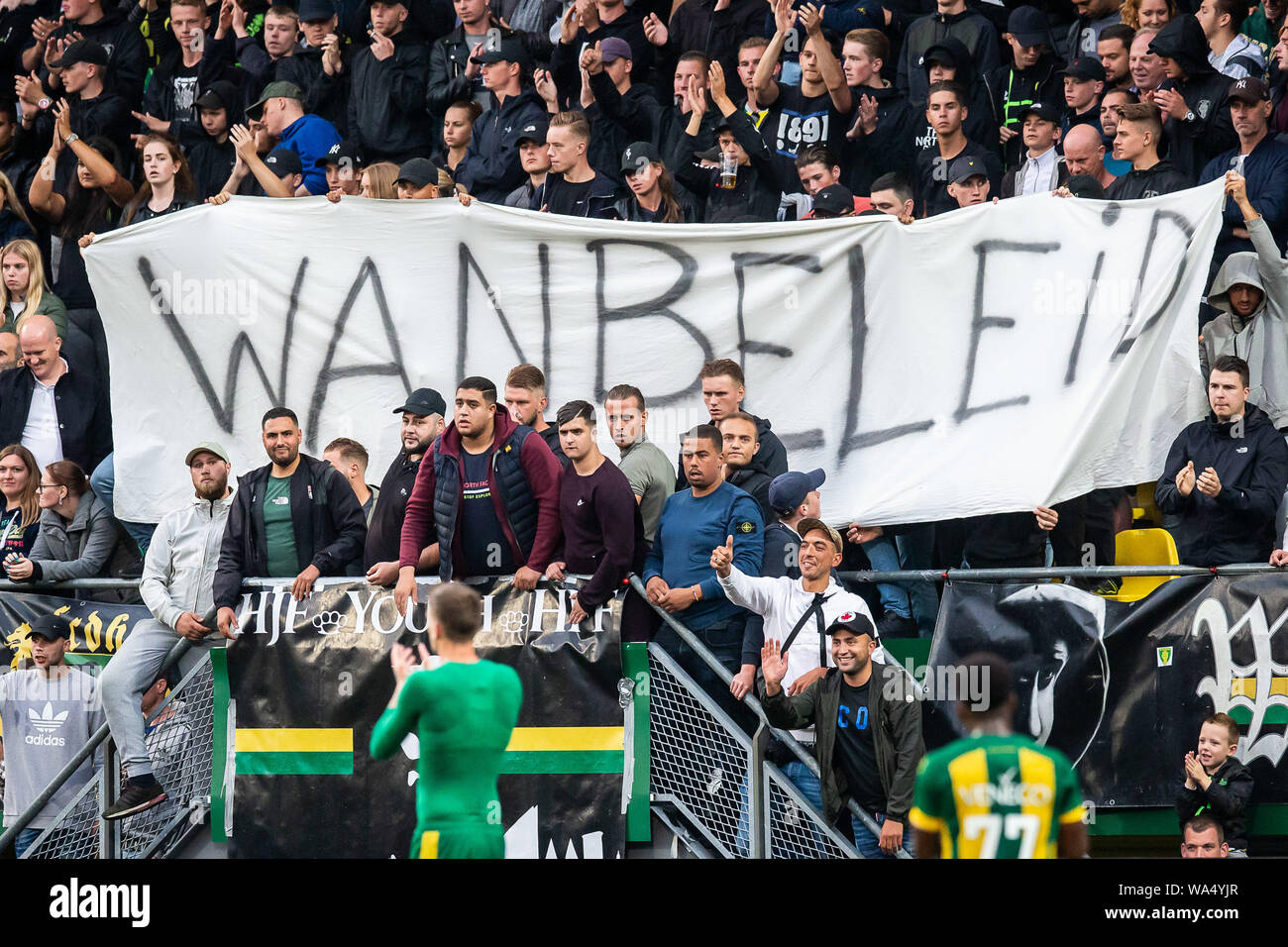 Den Haag Netherlands 17th Aug 2019 Cars Jeans Stadion Season 2019 2020 Football Dutch Eredivisie Ado Den Haag Sparta Final Result 1 2 Ado Fans Are Disappointed Credit Pro Shots Alamy Live News Stock Photo Alamy