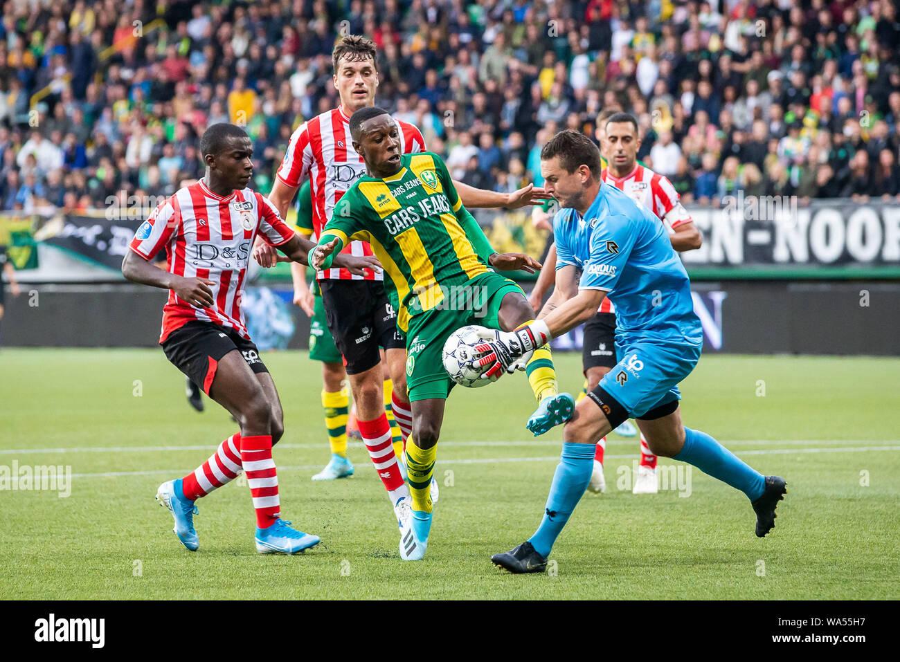 Den Haag Netherlands 17th Aug 2019 Cars Jeans Stadion Season 2019 2020 Football Dutch Eredivisie Ado