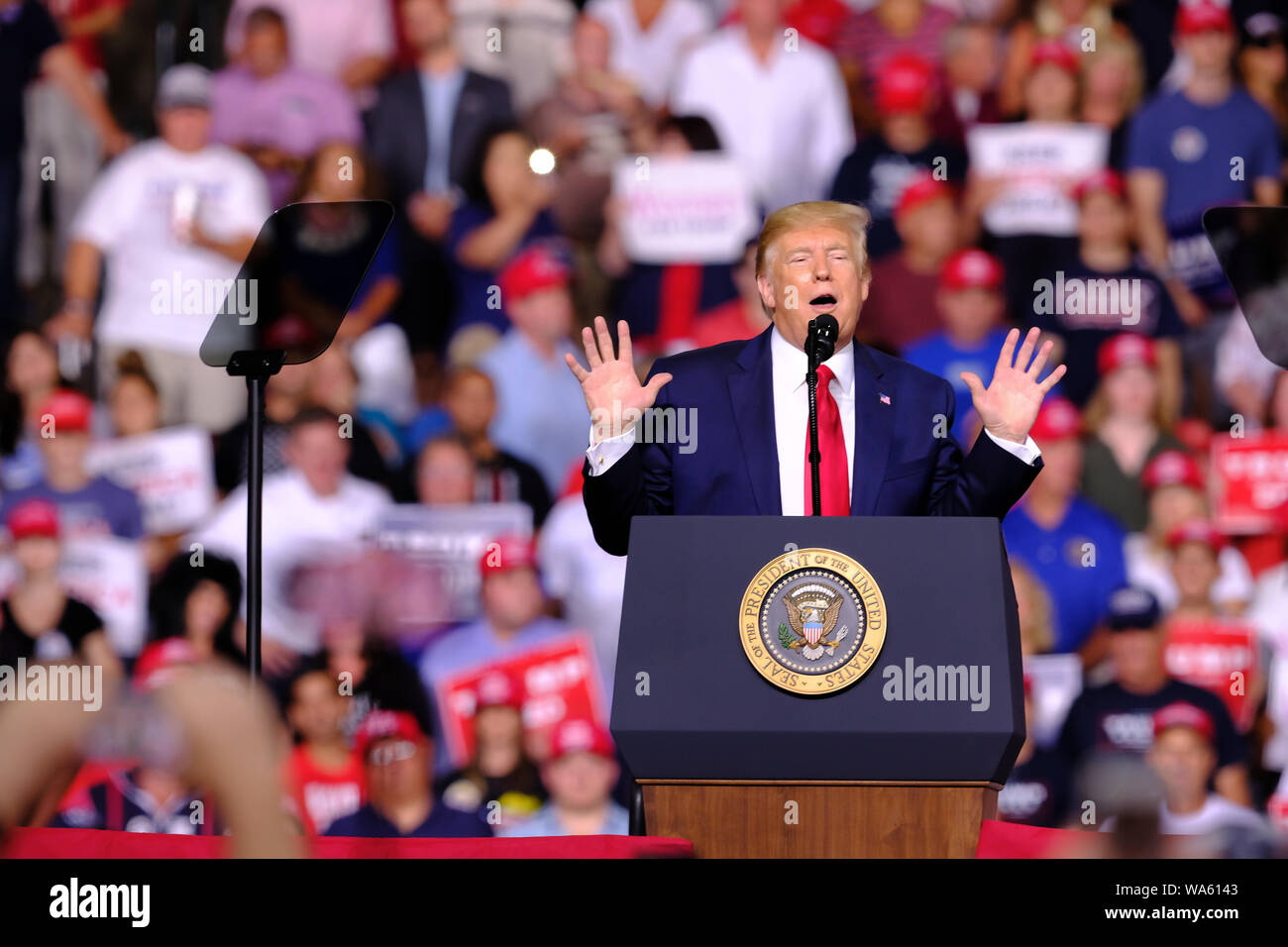 Us Current Events 2020.President Donald J Trump Speaks During His Campaign For The