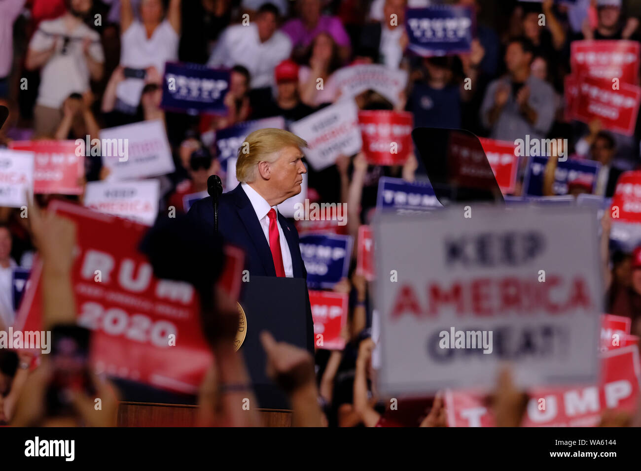 Us Current Events 2020.President Donald J Trump Seen During His Campaign For The