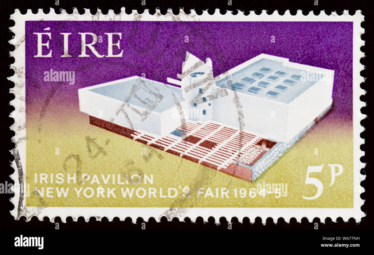 Republic Of Ireland Postage Stamp Irish Pavilion New York