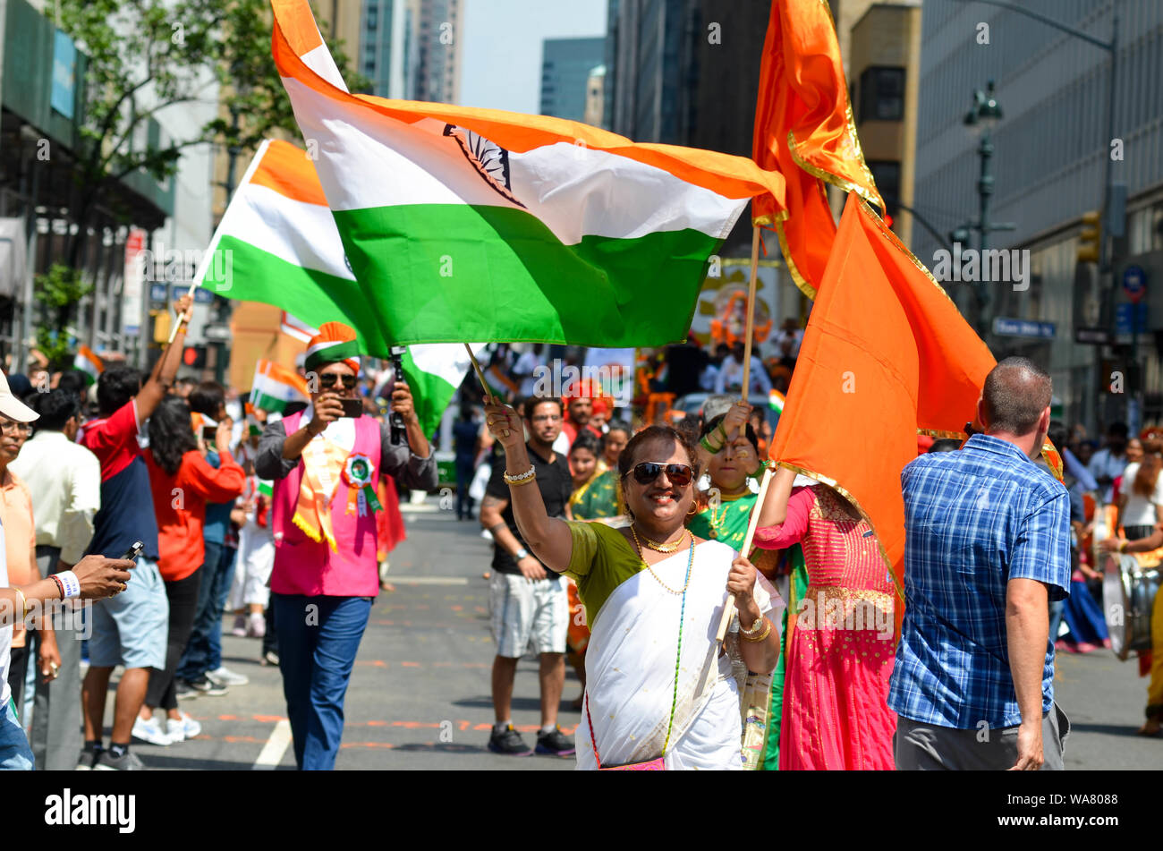 New York, New York, USA  18th Aug, 2019  Thousands of
