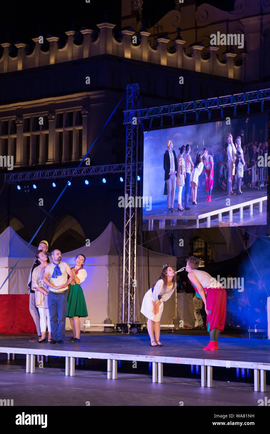 Teatr Pijana Sypialnia The Drunken Bedroom Theatre During