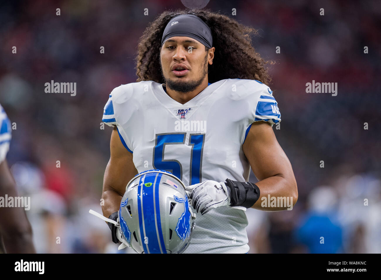 finest selection 89df7 64c2e August 17, 2019: Detroit Lions linebacker Jahlani Tavai (51 ...